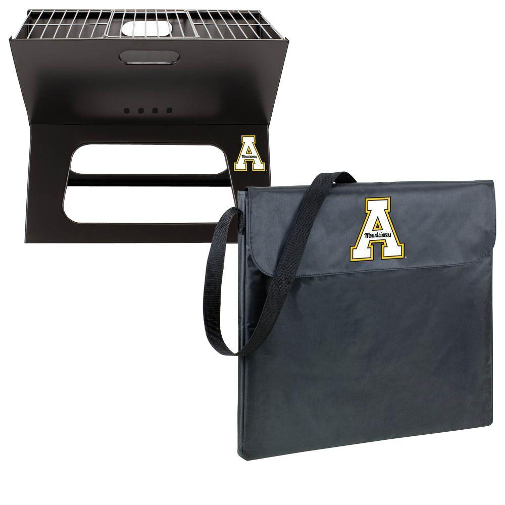 App State Mountaineers - X-Grill Portable Charcoal Grill