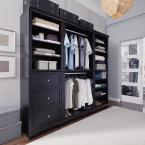 Home Styles Bedford Black Armoire