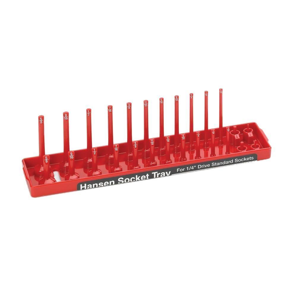 1/4 in. Drive Standard Socket Tray