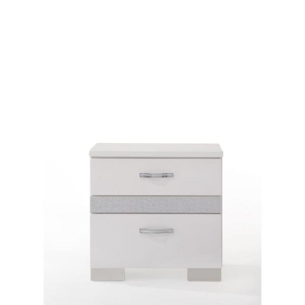 Acme Furniture Naima II White Nightstand 26773