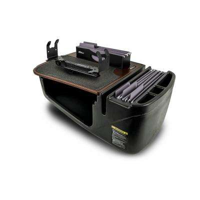 Efficiency FileMaster Mahogany with Built-In Power Inverter and Printer Stand