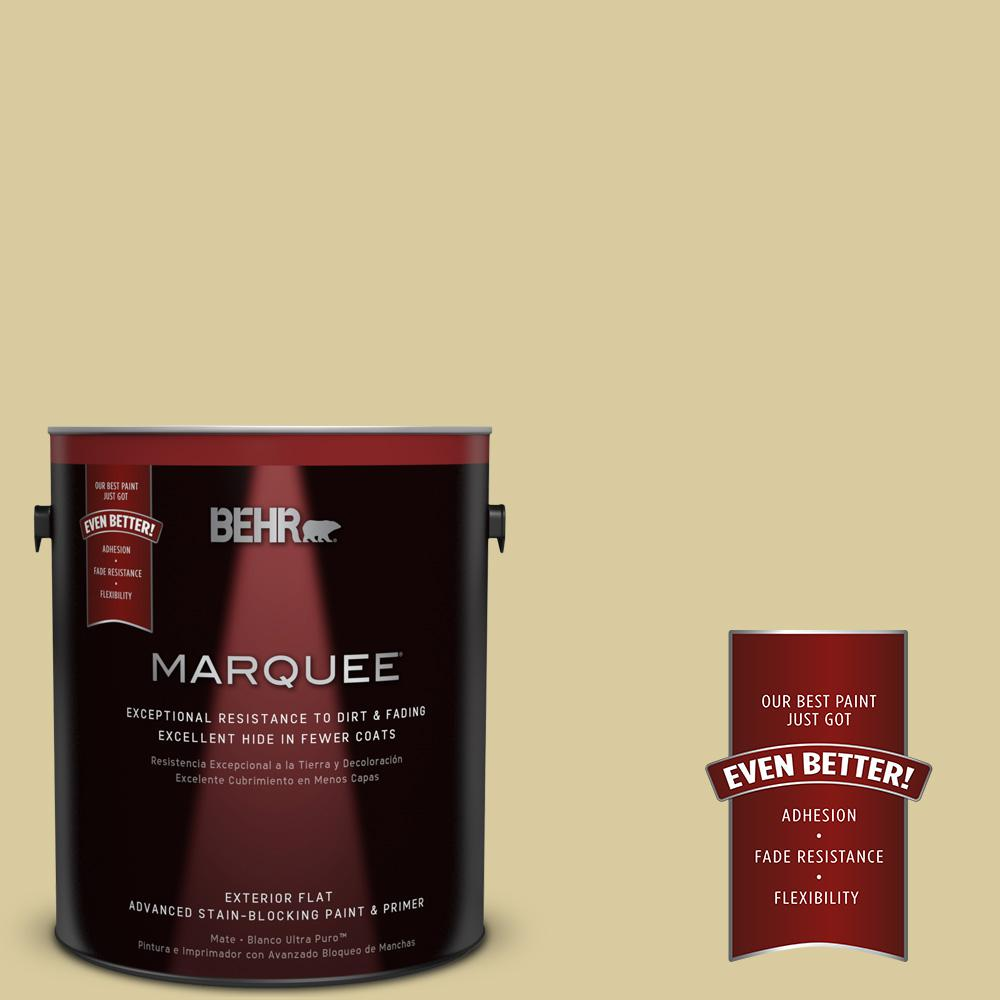 BEHR MARQUEE 1-gal. #PPU8-11 Mojito Flat Exterior Paint