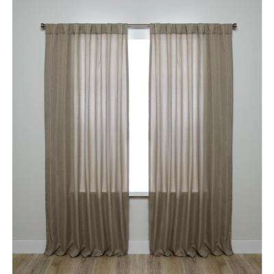 Kensington Beige Room Dark Panel - 54 in. W x 84 in. L