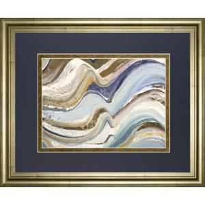 34 In X 40 Earth Tone New Concept By Patricia Pinto Framed Printed Wall Art