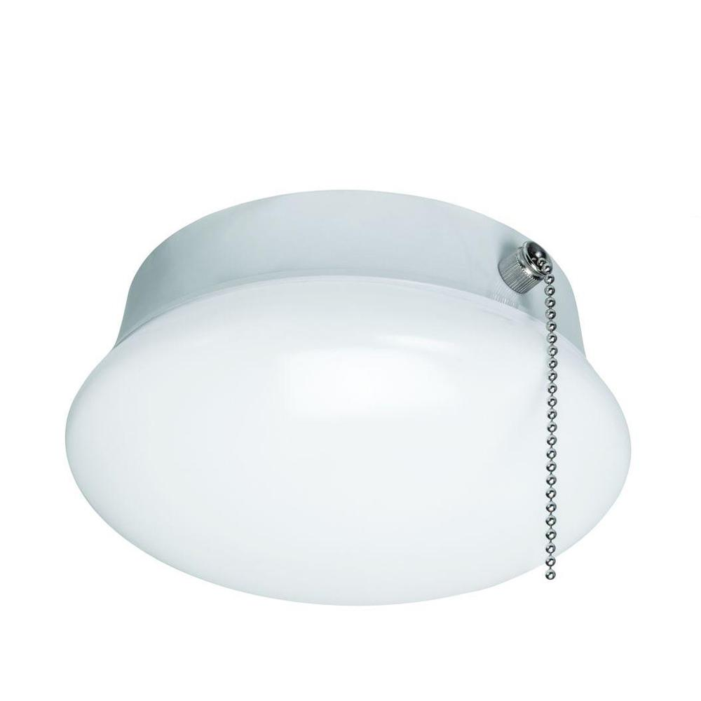 Commercial Electric 7 in. Bright White Integrated LED Flushmount ... for Lamp Holder Flush Type  56mzq