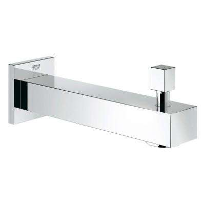 Eurocube Wall-Mounted Tub Spout in StarLight Chrome