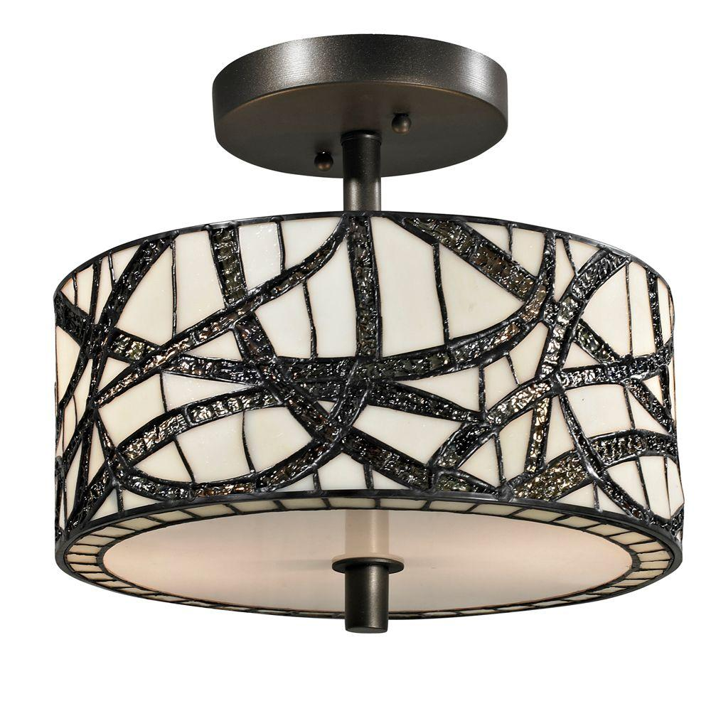 Dale tiffany willow cottage 2 light dark bronze semi flush mount dale tiffany willow cottage 2 light dark bronze semi flush mount light arubaitofo Gallery