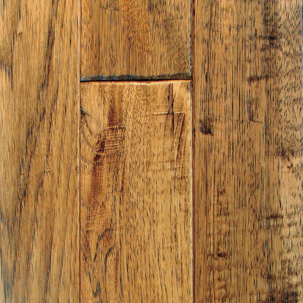 Hickory Vintage Barrel Solid Hardwood Flooring - 5 in. x 7 in. Take Home Sample