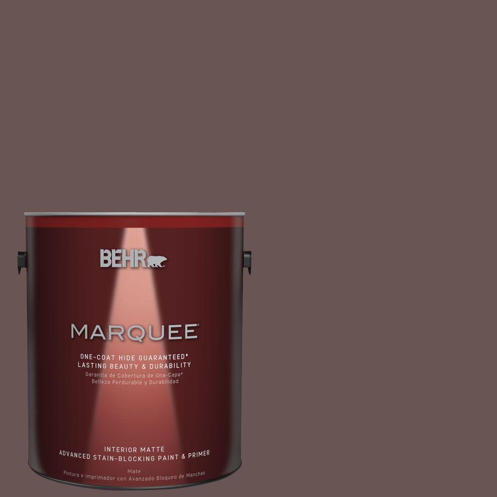 1 gal. #MQ1-42 Briar Wood One-Coat Hide Matte Interior Paint