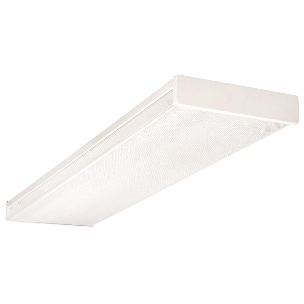 Lithonia Lighting 4 Ft. Wraparound Fluorescent Fixture-LB