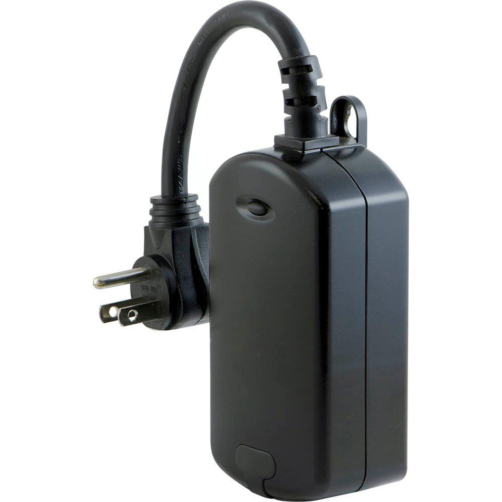 GE Z-Wave 600-Watt Outdoor Plug-In On/Off Module Switch