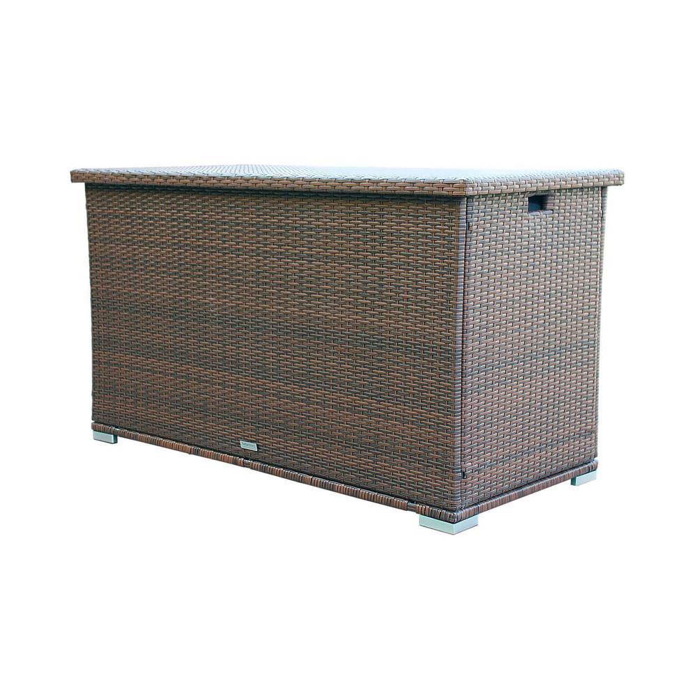 273 Gal. Wicker Deck Box