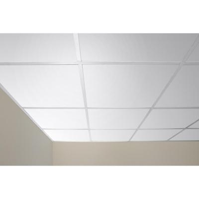 Serenity White 2 ft. x 2 ft. Lay-in Ceiling Panel (Case of 6)