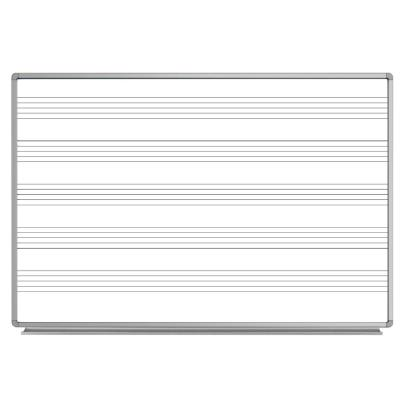 72 in. x 48 in. Wall-Mounted Magnetic Music Board
