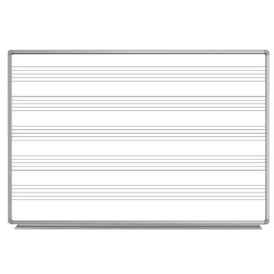 72 in. x 48 in. Wall-Mounted Magnetic Whiteboard