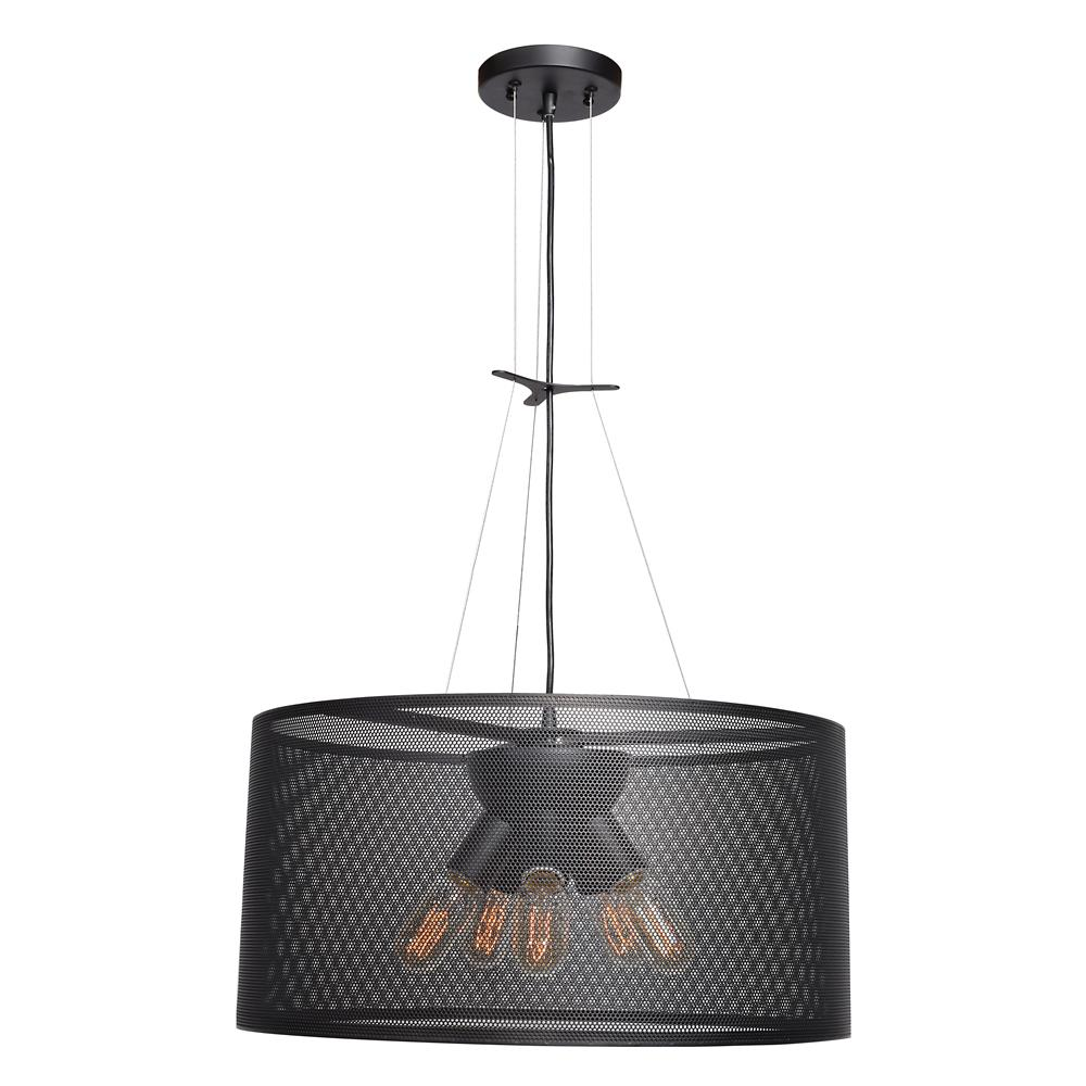 Access Lighting Epic 5-Light Black Pendant