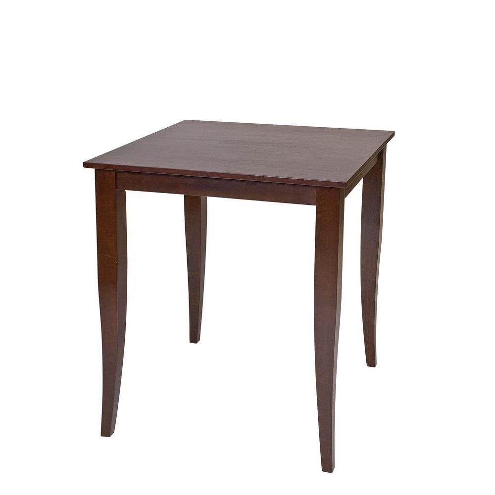 Ospdesigns jamestown brown pub bar table jt432 the home for Table 6 handbook 44