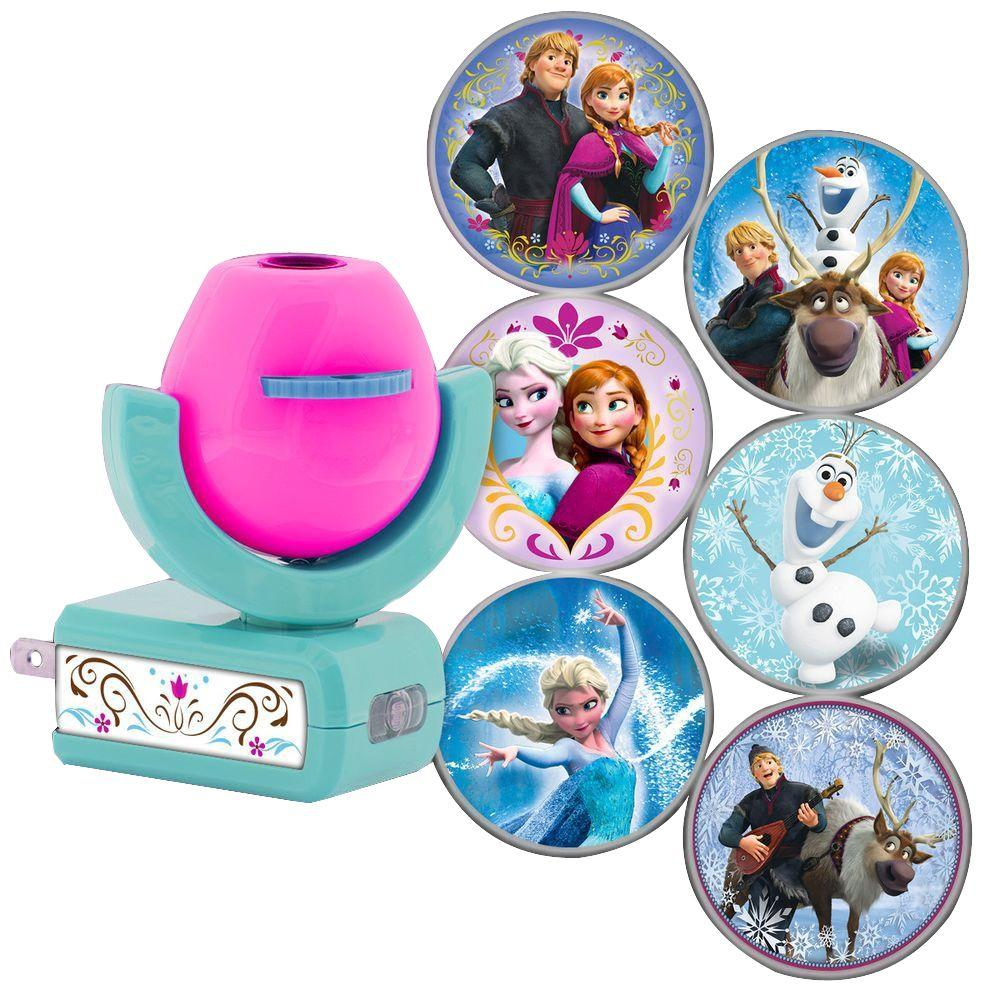 Projectables Disney Frozen 6 Image Auto Led Night Light