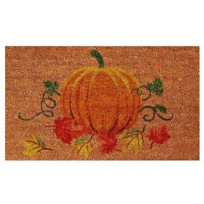 Nature's Bounty 17 in. x 29 in. Coir Door Mat