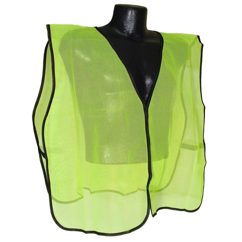 Radians Safety Vest Green Mesh No Tape