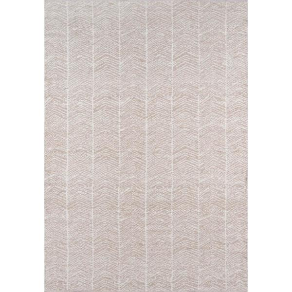 Congress Brown 7 ft. 6 in. x 9 ft. 6 in. Indoor/Outdoor Area Rug