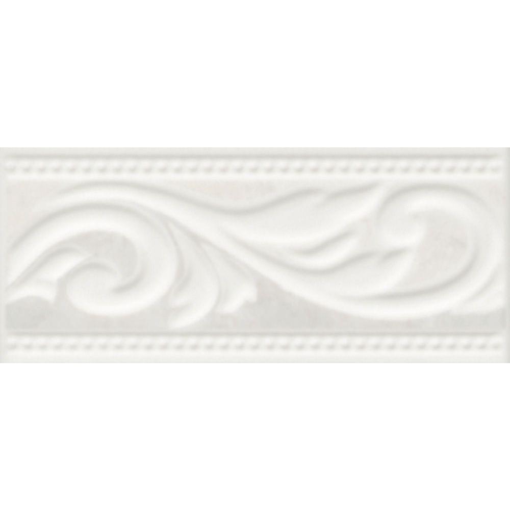 Illusione Ice 3 in. x 7/25 in. Ceramic Listello Wall Tile