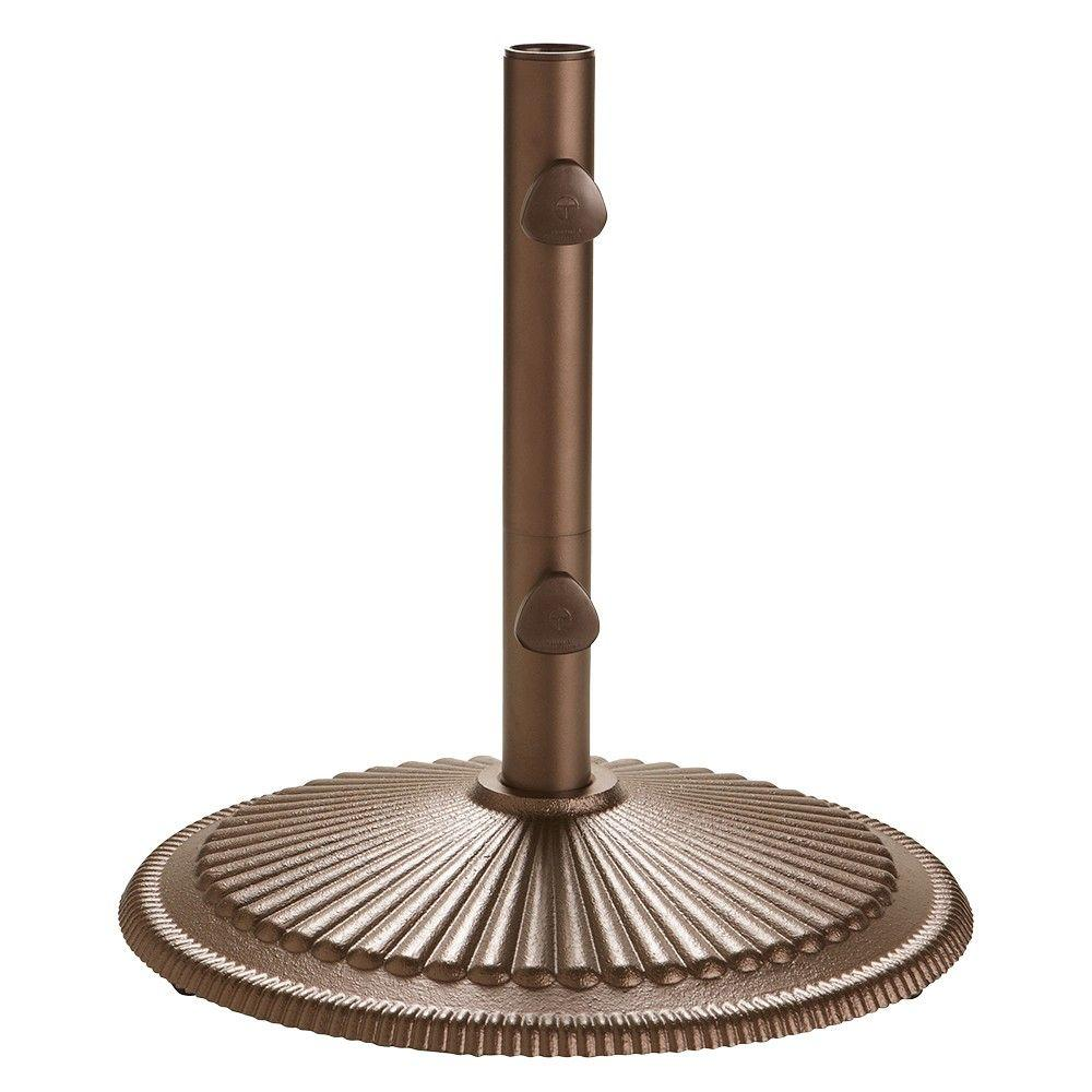 Home Decorators Collection Classic Market Umbrella Base in Bronze