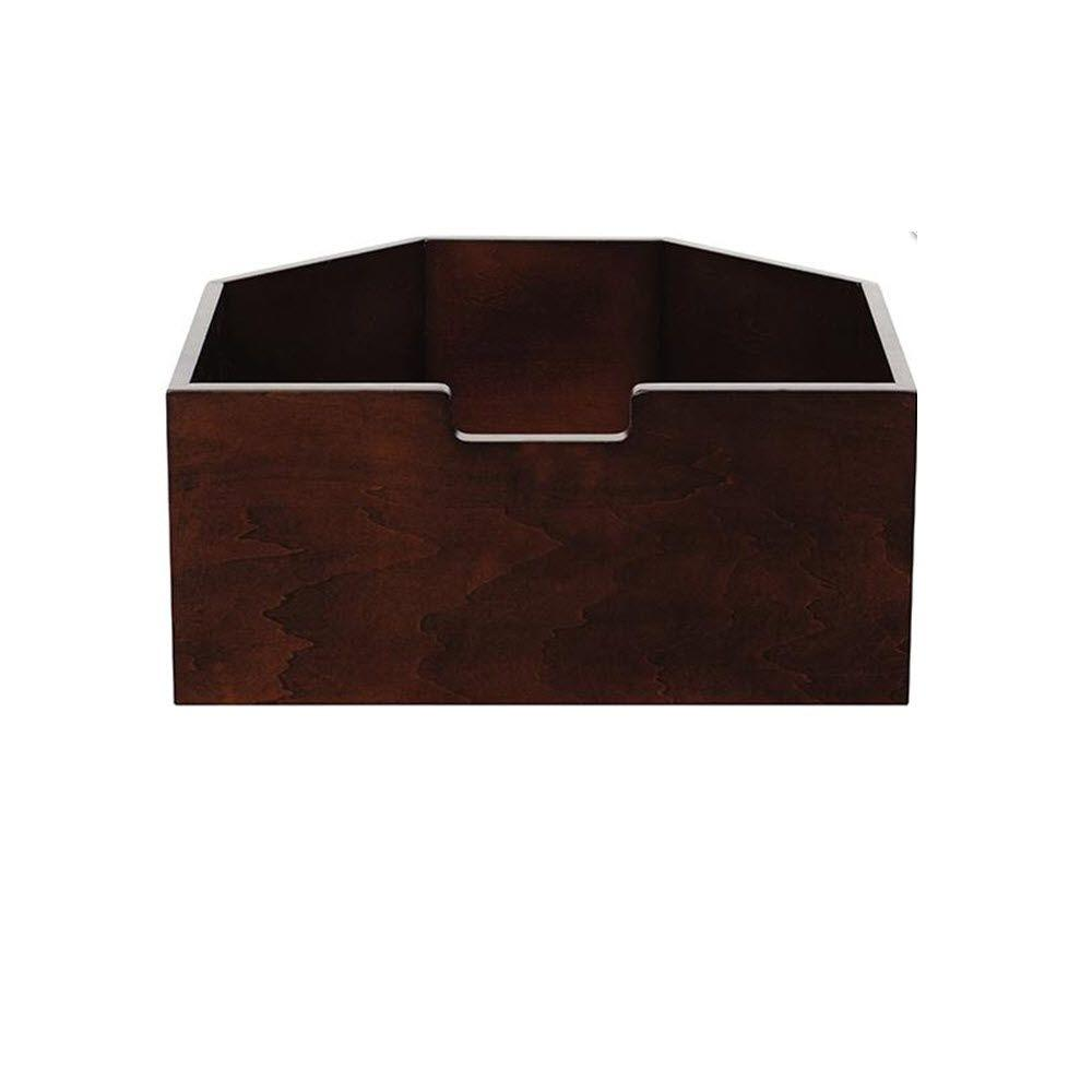 Martha Stewart Living Craft Space 3 lb. Tall Sequoia Angled Cubby Drawer