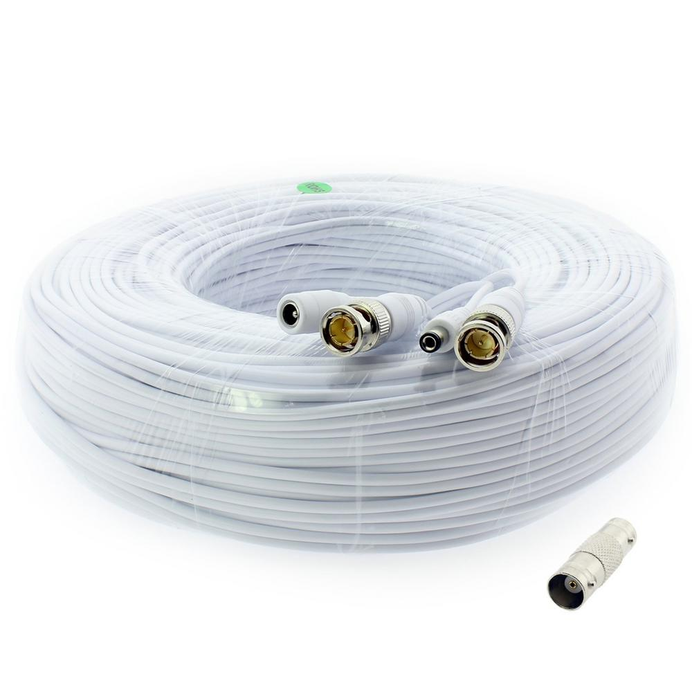 200 ft. Premium 1080p HD Ready BNC Video Power Extension Cable