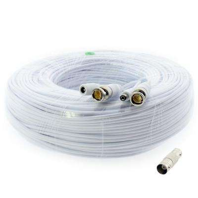 200 ft. Premium 1080p HD Ready BNC Video Power Extension Cable Universal Compatible with All Brands Surveillance CCTV