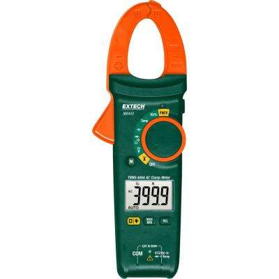 True RMS 400 Amp AC Clamp Meter with NCV and NIST