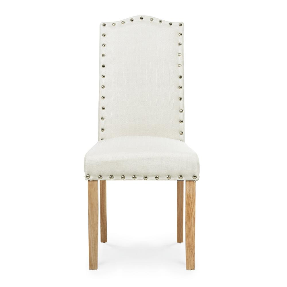 EDGEMOD Somerset Ivory Dining Chair (Set of 2), Ivory/Natural was $240.07 now $144.04 (40.0% off)