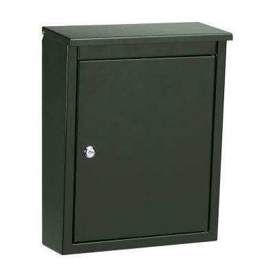 Soho Wall-Mount Locking Mailbox