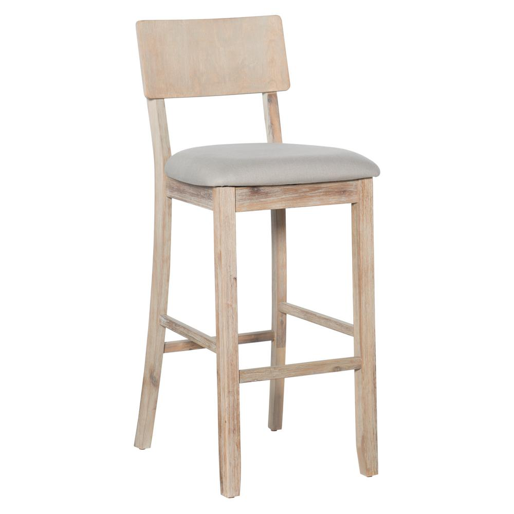Pleasant Details About Bar Stool Chair Cushioned Seat Wood Frame Heavy Duty Water Resistant Durable Ibusinesslaw Wood Chair Design Ideas Ibusinesslaworg