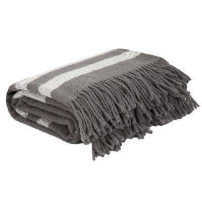 Platinum Australian Wool Throw