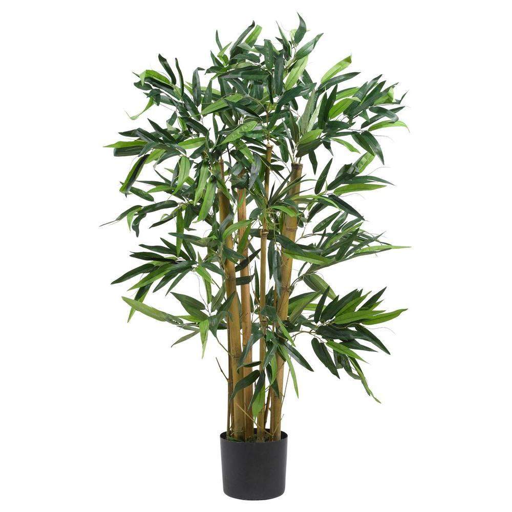 Nearly Natural 3 ft. Biggy Bamboo Silk Tree