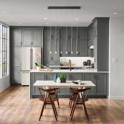 Custom Kitchen Cabinets Shown in Industrial Style