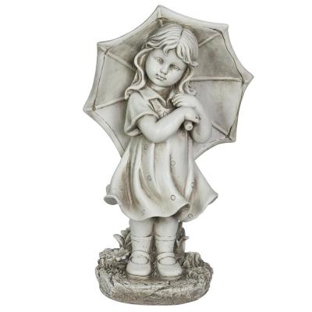Solar Girl with Umbrella Statue