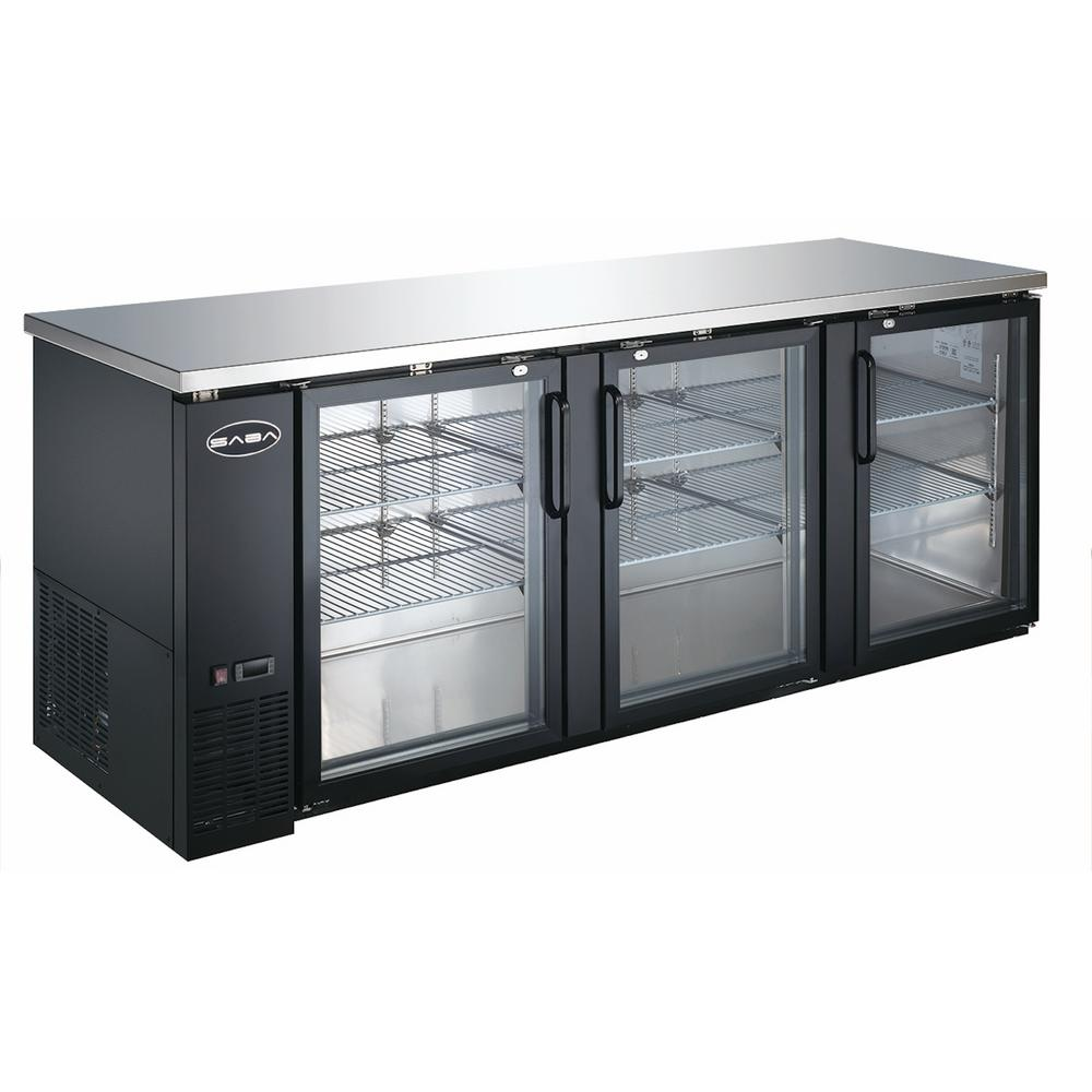 Saba 905 In W 32 Cu Ft Commercial Back Bar Refrigerator With