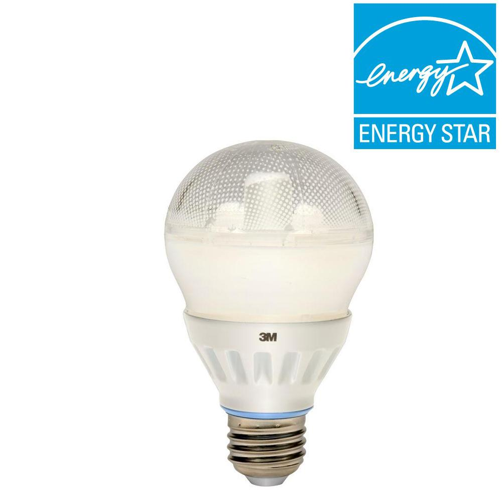 40W Equivalent Daylight A19 Dimmable Omni Directional LED Light Bulb