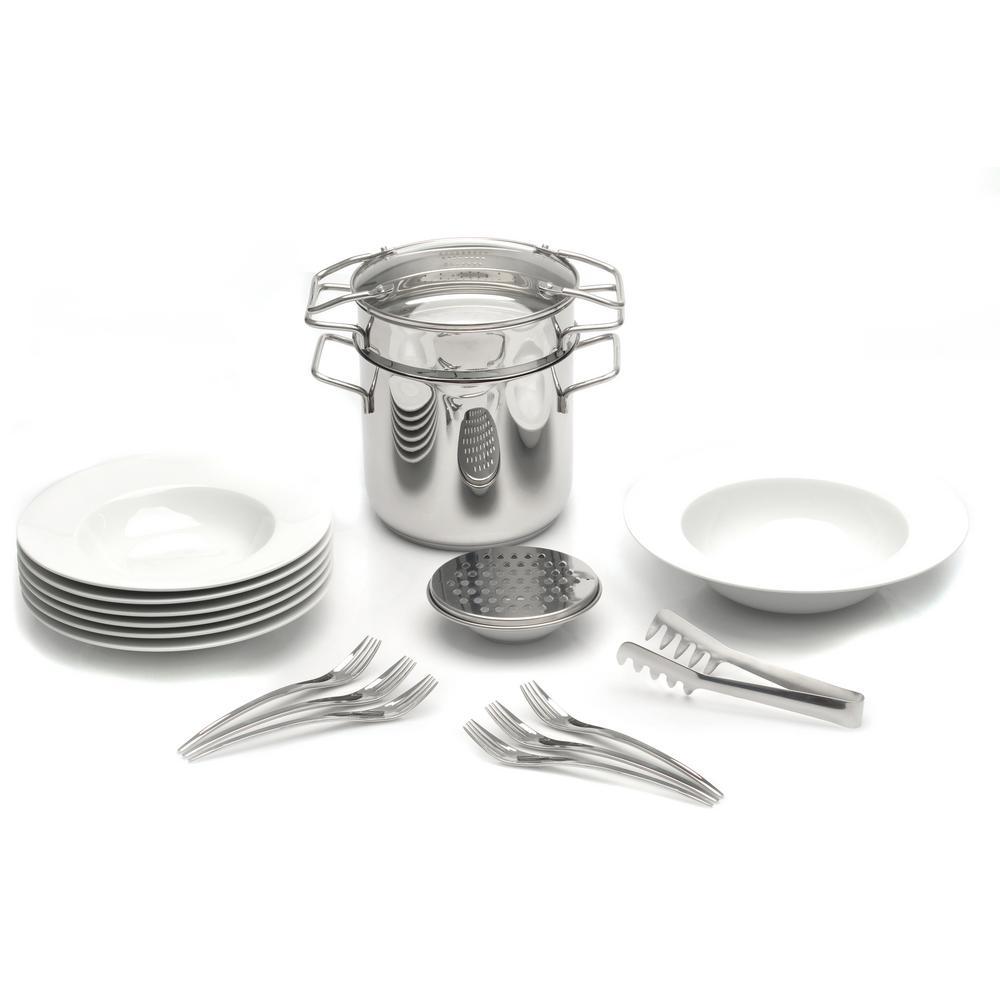 Studio 20-Piece Pasta Cookware and Dinnerware Set