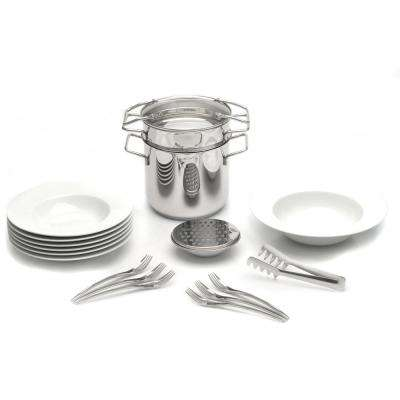 Studio 20-Piece Pasta Cookware and Dinnerware Set