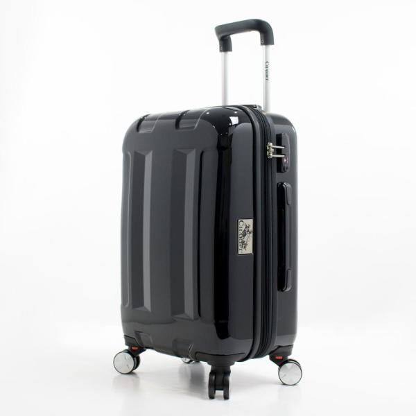 Chariot Cinco 20 in. Hardside Carry-On Luggage CH-727 BLACK 20''