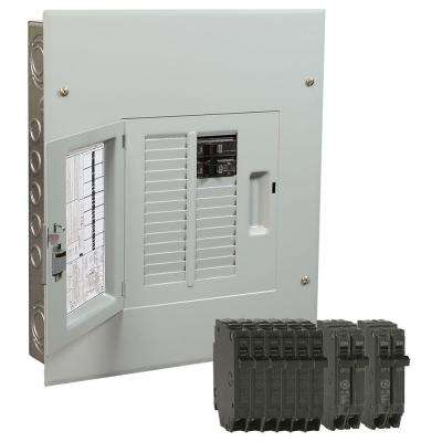PowerMark Gold 125 Amp 12-Space 22-Circuit Indoor Main Breaker Value Kit Includes Select Circuit Breaker