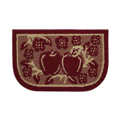 Apple Turnover 18 in. x 30 in. Kitchen Rug