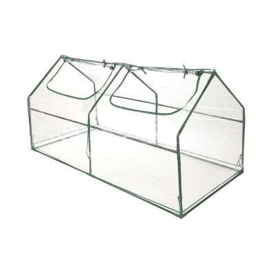 71 in. Portable Plastic Compact Green House