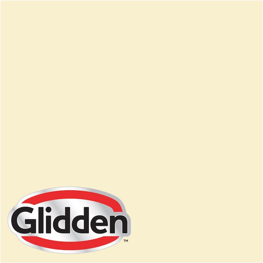 Glidden Premium 8 Oz Hdgy30 Candlelight Yellow Flat Interior Paint Sample