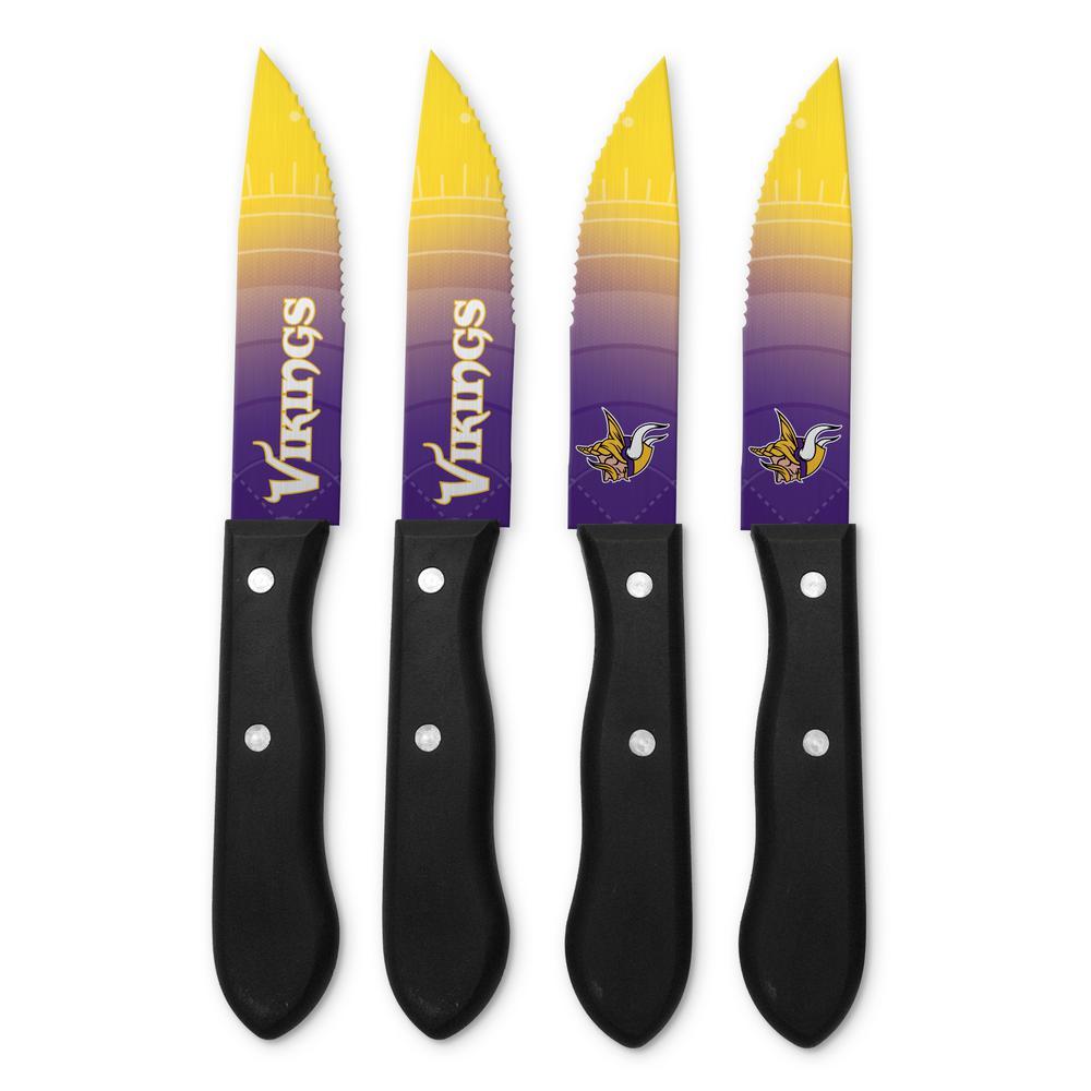 NFL Minnesota Vikings Steak Knives (4-Pack)