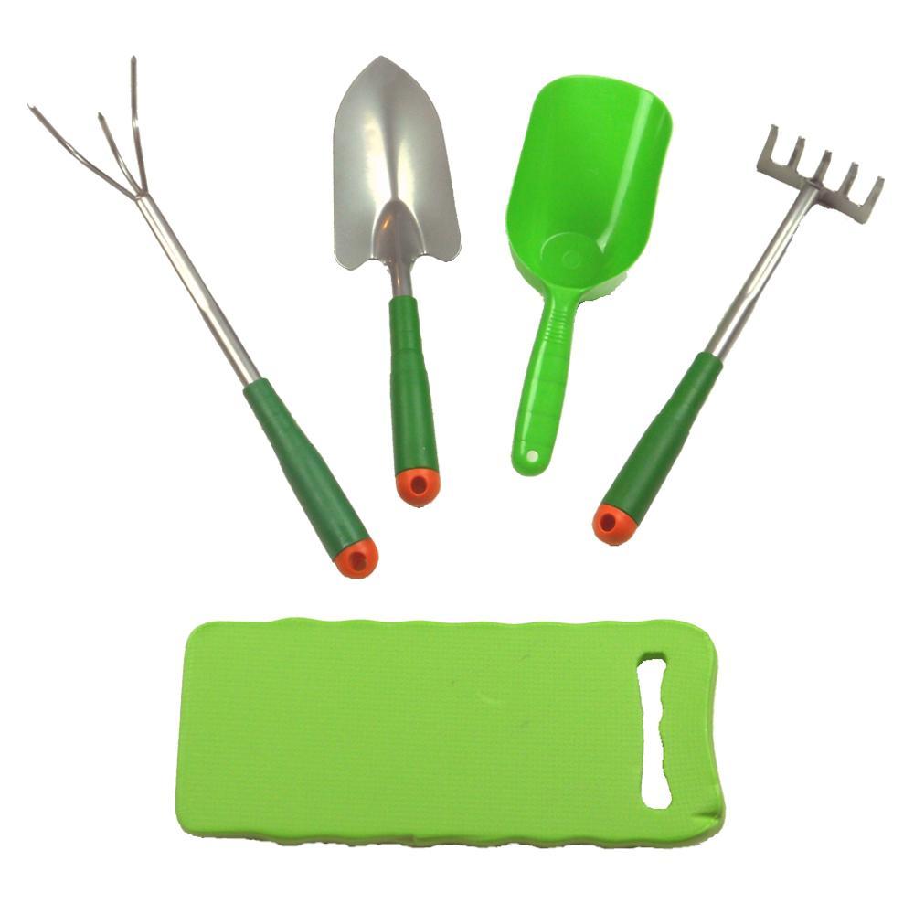Garden Tool Set (5-Piece)-FL817GTS5 - The Home Depot