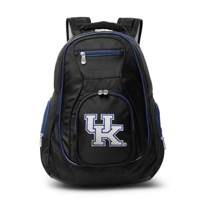 Denco NCAA Kentucky Wildcats 19 in. Black Trim Color Laptop Backpack, Multi-Colored
